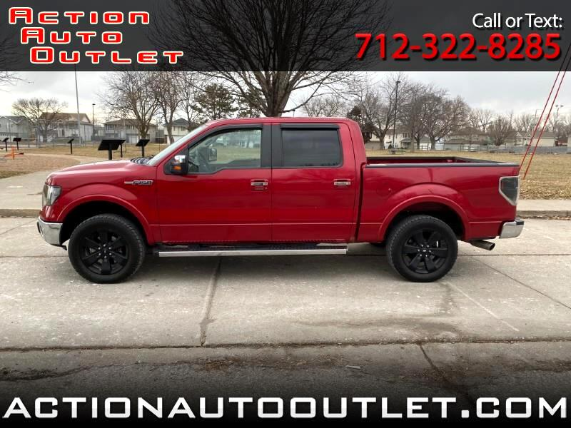 Ford F-150 Lariat 4WD SuperCrew 5.5' Box 2010