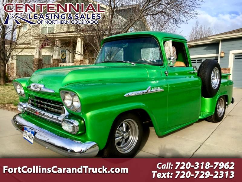 1958 Chevrolet Trucks Pickup Apache 3100