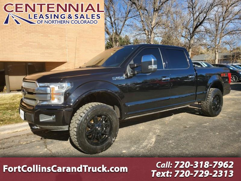 2019 Ford F-150 Platinum SuperCrew 6.5-ft. Bed 4WD