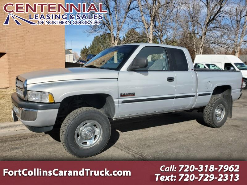 Dodge Ram 2500 Quad Cab Short Bed 4WD 1999