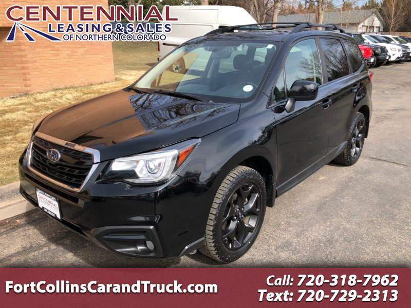 Subaru Forester 2.5i Premium Black Edition CVT *Ltd Avail* 2018