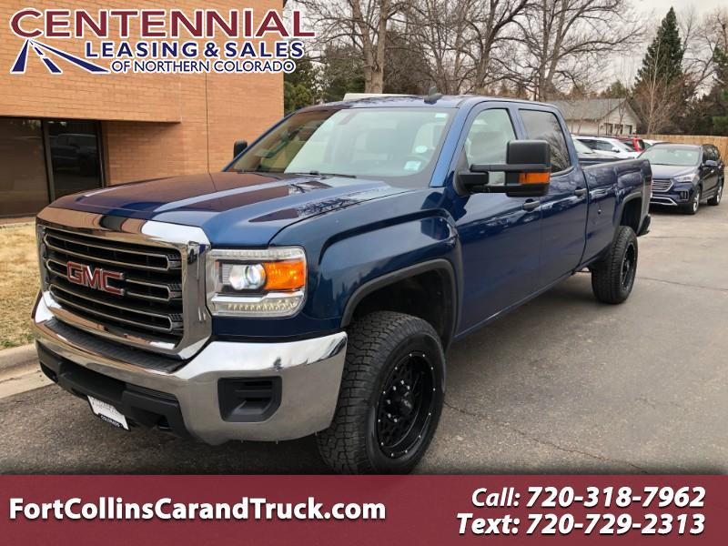 GMC Sierra 2500HD Base Crew Cab Long Box 4WD 2017
