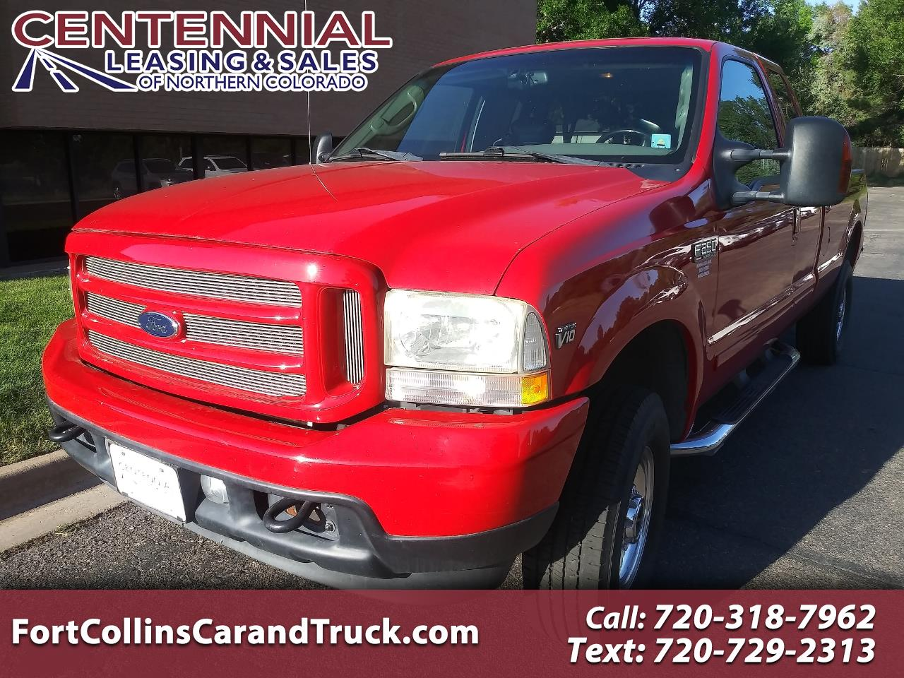 "Ford Super Duty F-250 Supercab 142"" Lariat 4WD 2003"