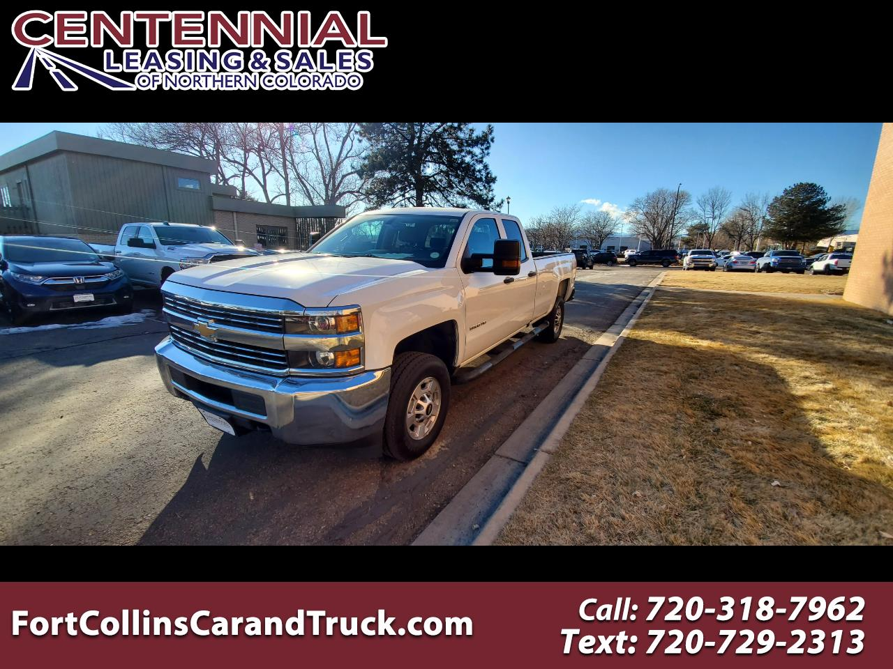 "Chevrolet Silverado 2500HD 4WD Double Cab 158.1"" Work Truck 2018"