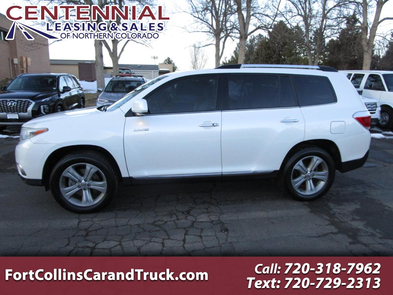 Toyota Highlander 4WD 4dr V6  Limited (Natl) 2012