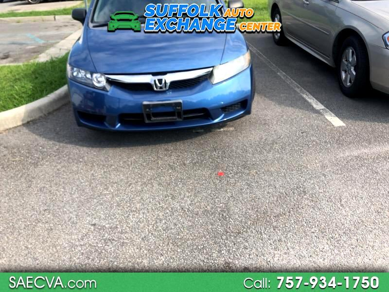 2009 Honda Civic DX-VP Sedan 5-Speed AT
