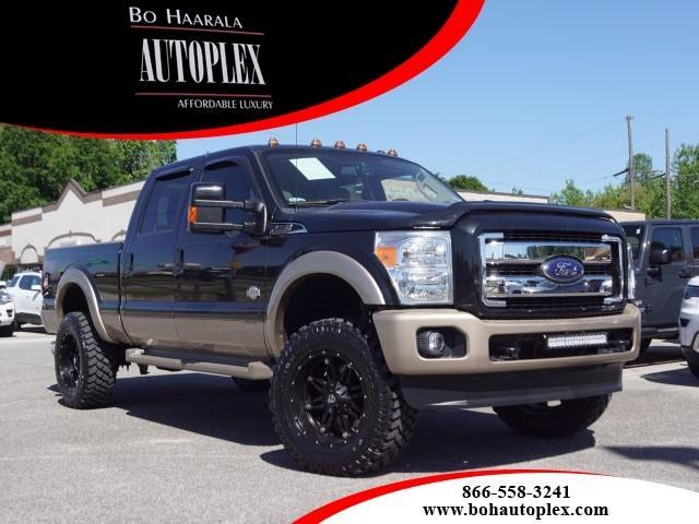 2014 Ford F-250 SD king ranch 4wd