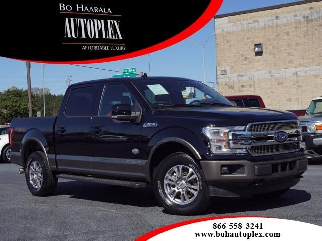 "2018 Ford F-150 4WD SuperCrew 145"" King Ranch"