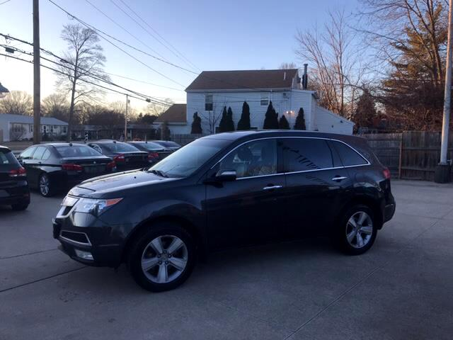 Acura MDX 6-Spd AT w/Tech Package 2013