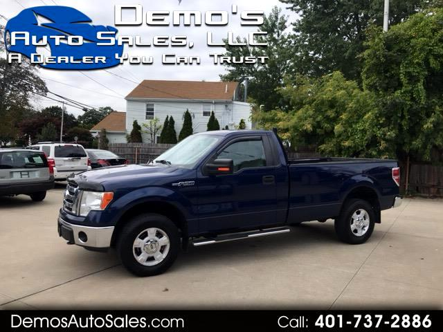 2009 Ford F-150 XLT 4WD Reg Cab 8' Box