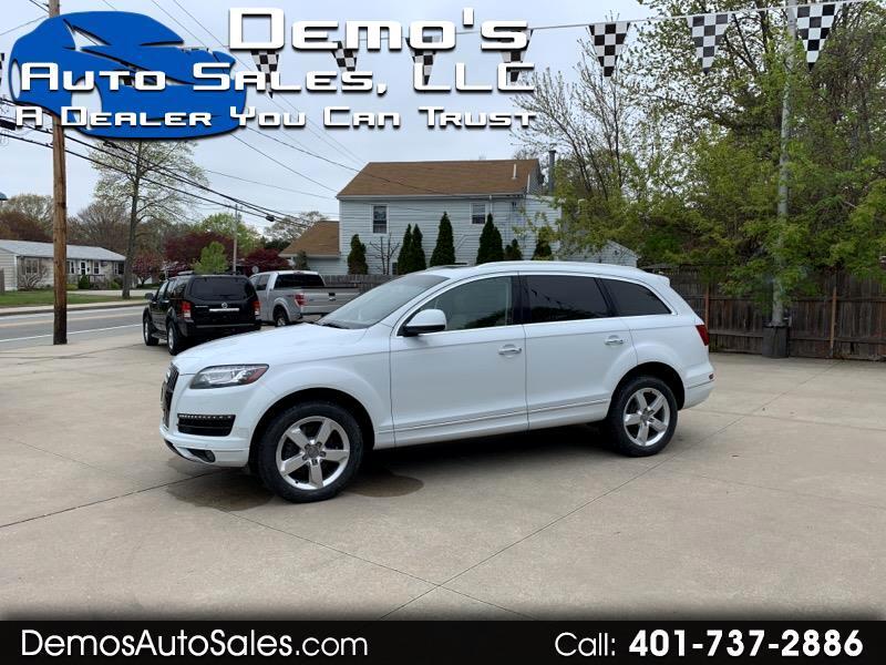 Audi Q7 TDI Premium Plus quattro 2012
