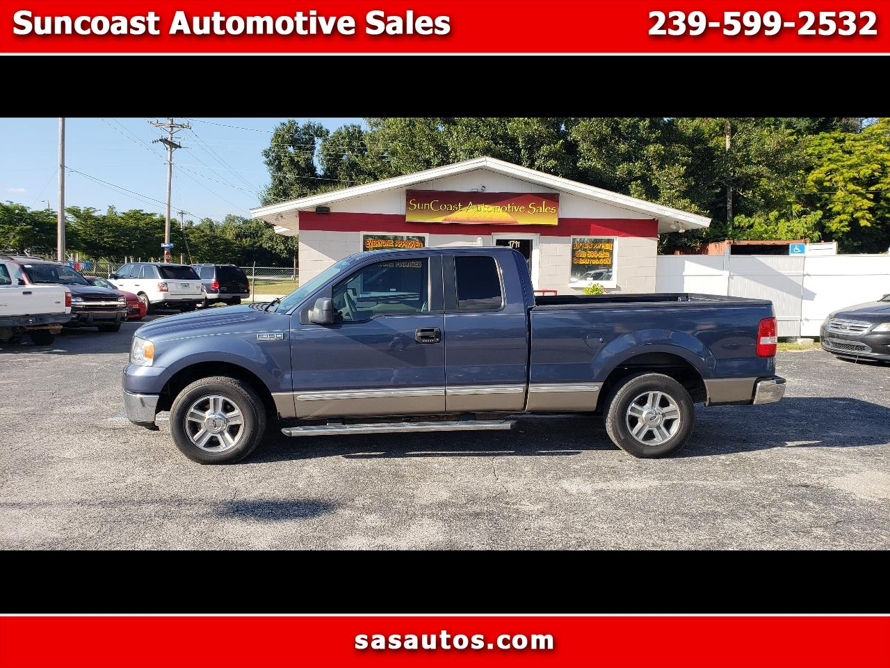 "2006 Ford F-150 Supercab 133"" XLT"