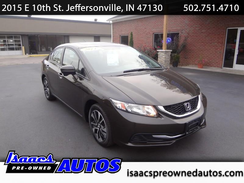 2014 Honda Civic EX Sedan CVT