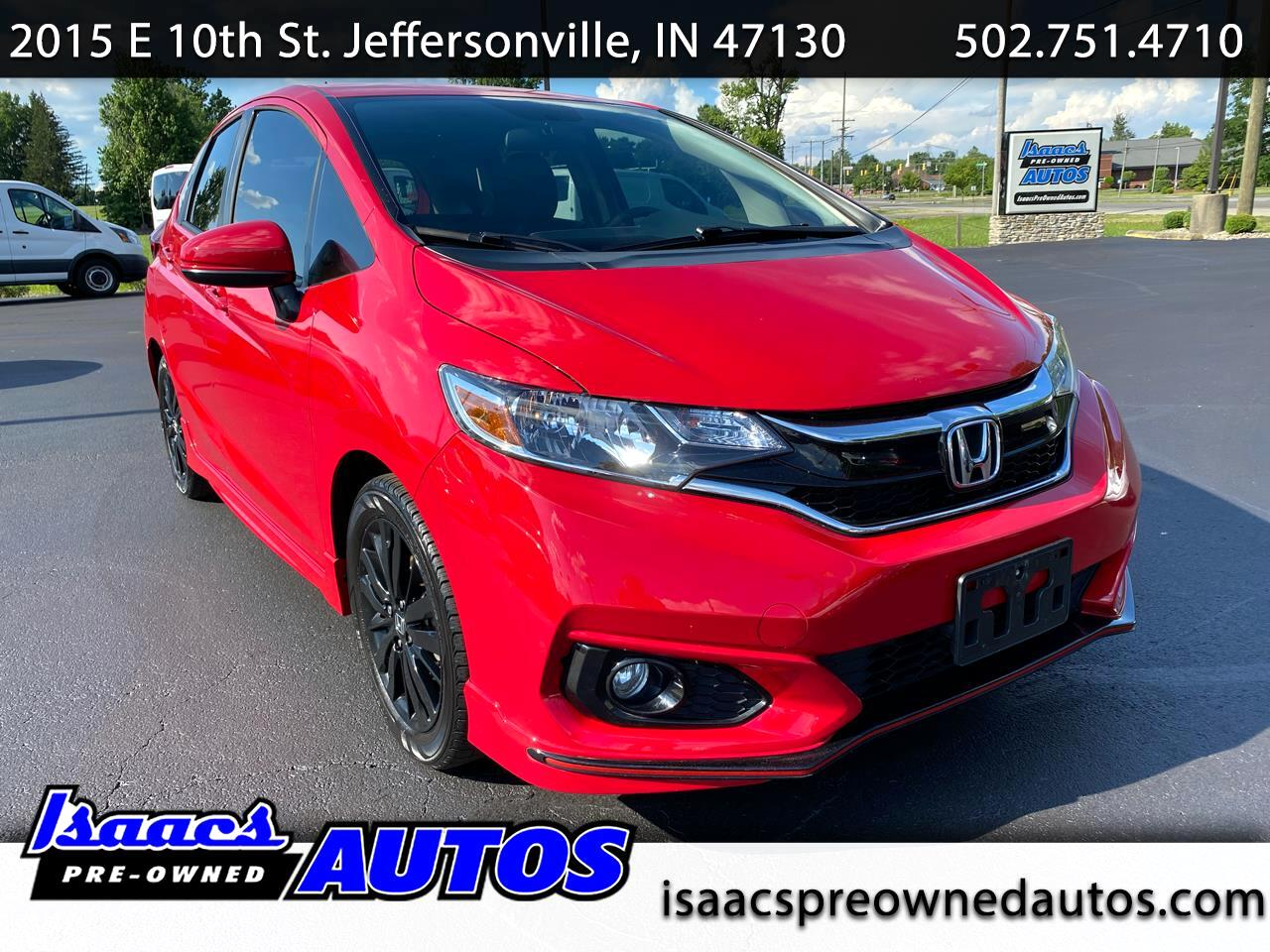 Honda Fit Sport Manual 2018