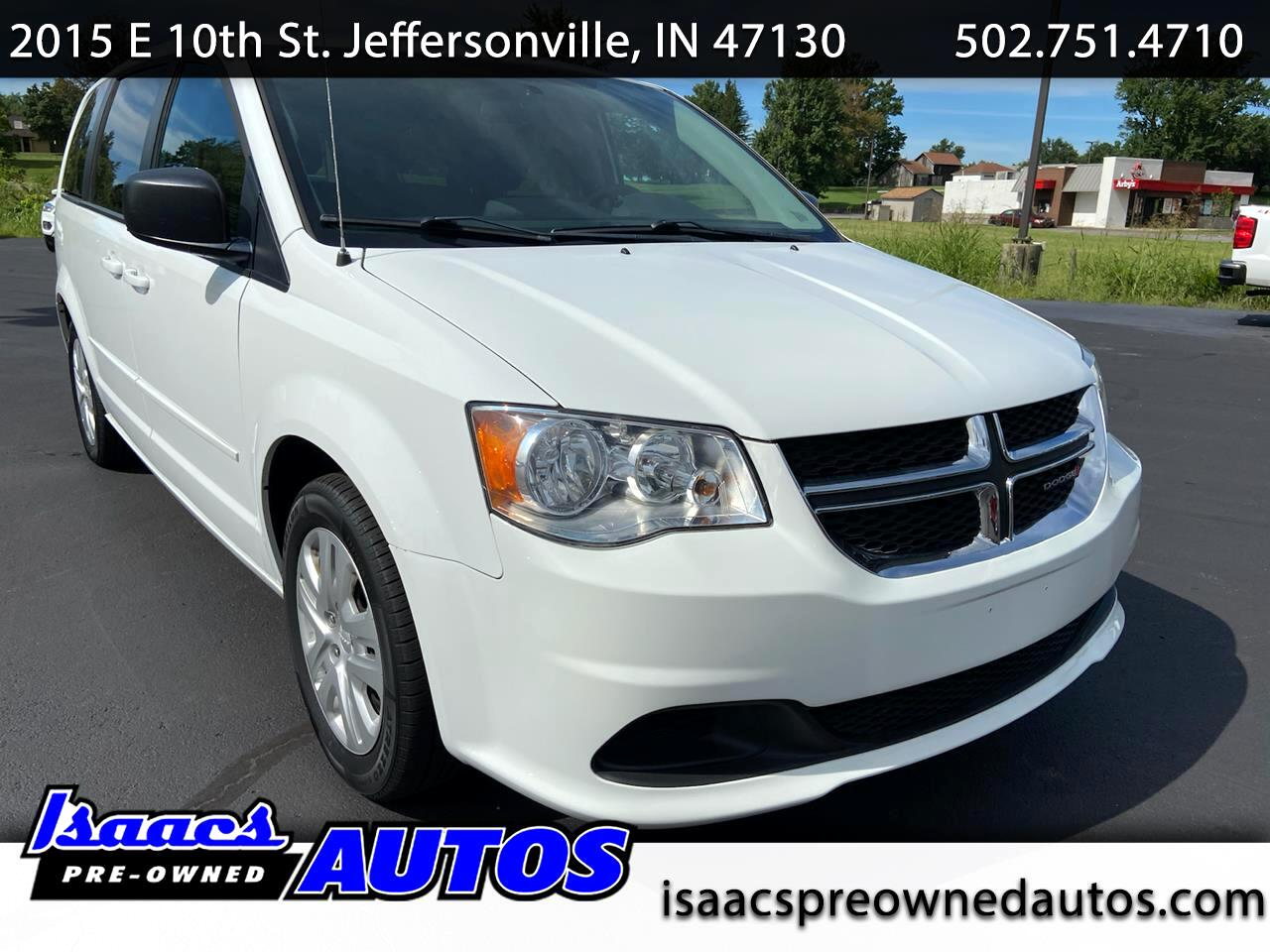 Dodge Grand Caravan 4dr Wgn SE 2015