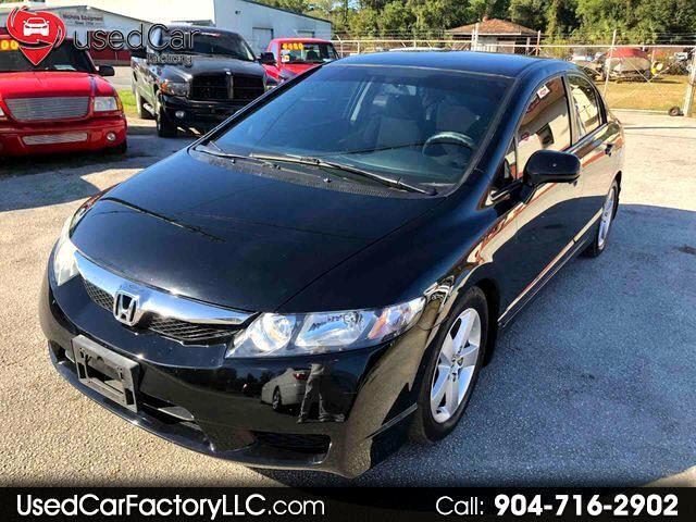 2011 Honda Civic LX-S Sedan 5-Speed AT