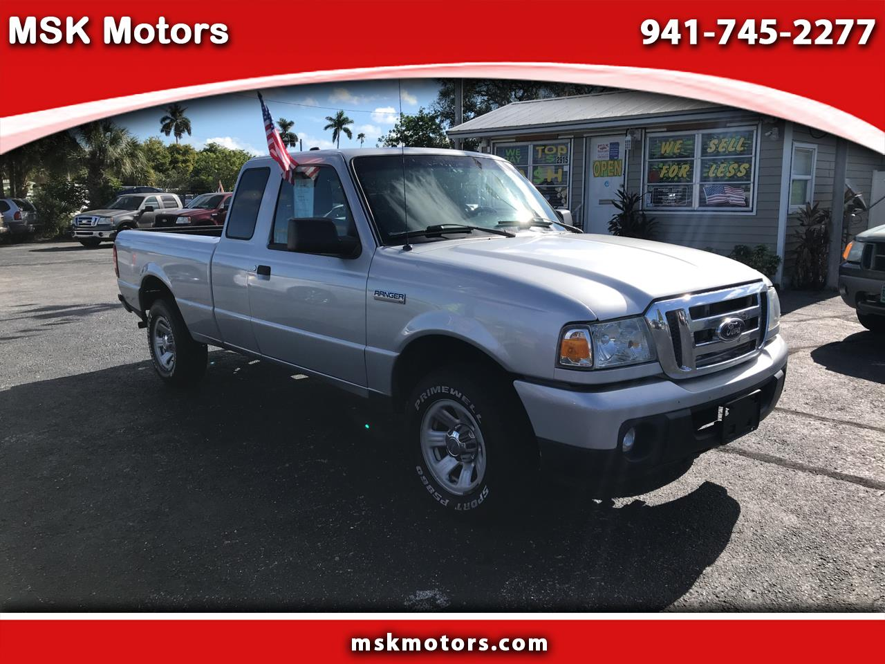 2011 Ford Ranger XLT SuperCab 2-Door 2WD