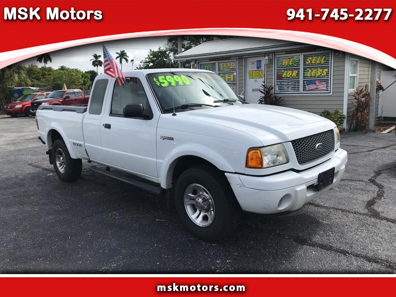 2002 Ford Ranger Supercab 3.0L Edge Plus