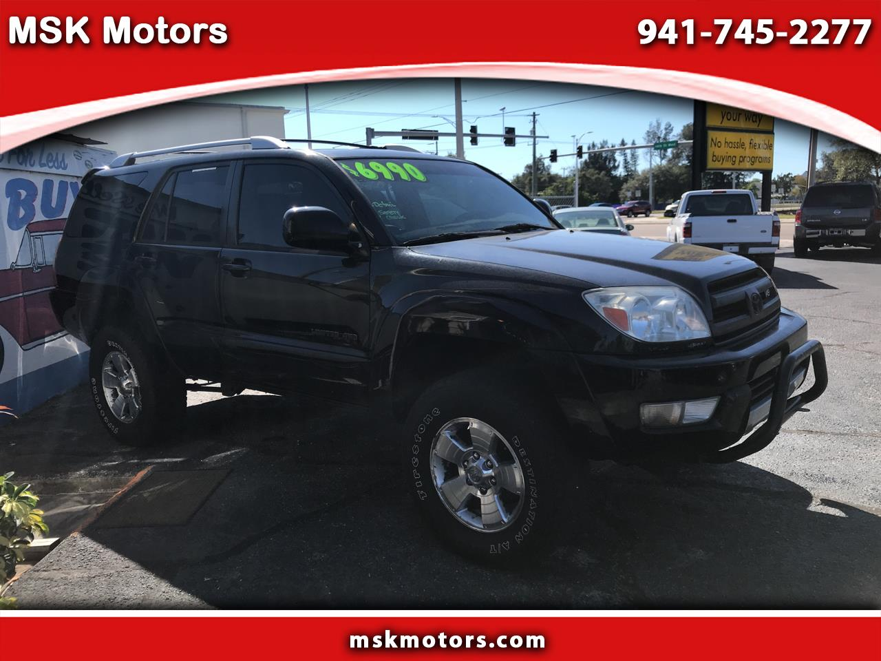 Toyota 4Runner 4WD 4dr V8 Limited (Natl) 2003