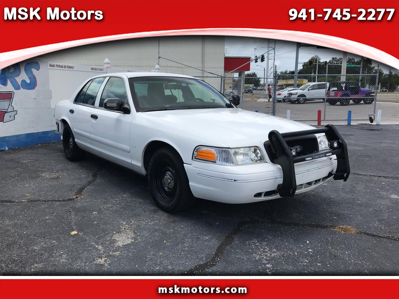 Ford Crown Victoria Police Interceptor 2000