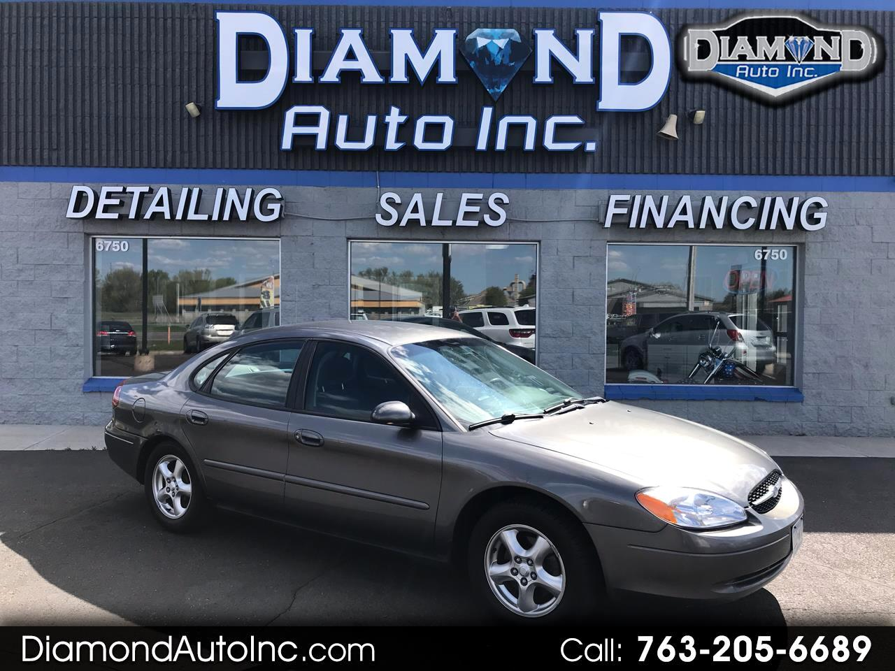 Ford Taurus 4dr Sdn SES 2002