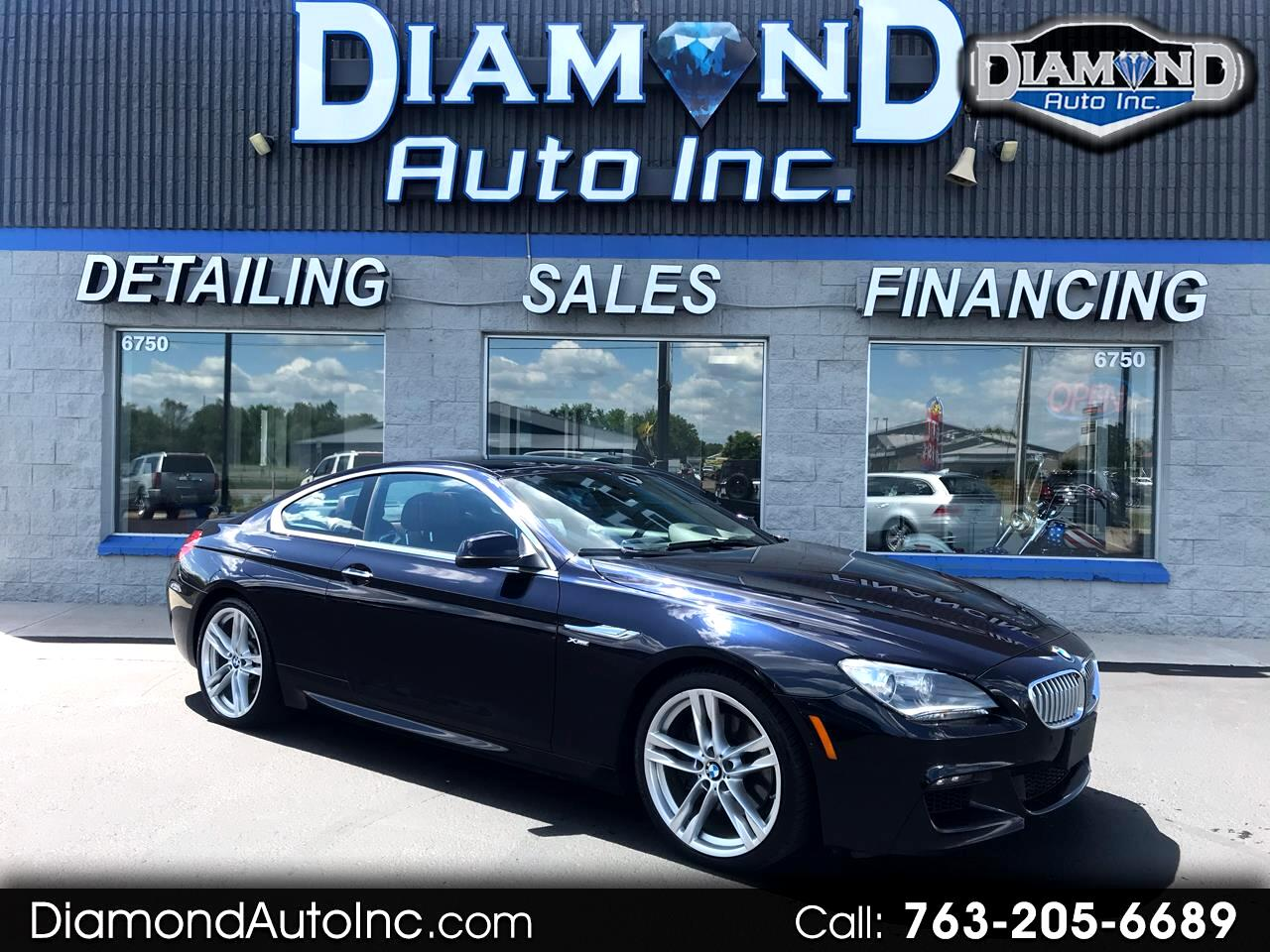 BMW 6-Series 650i xDrive Coupe 2012
