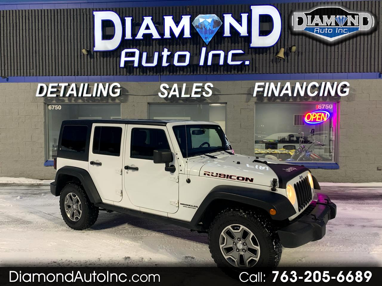 Jeep Wrangler Unlimited Rubicon 4WD 2014