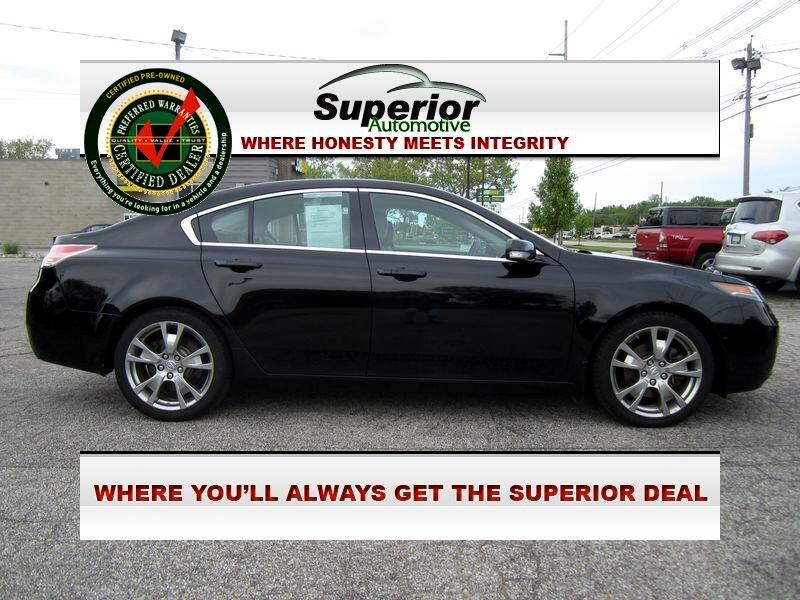 Acura TL 6-Spd AT SH-AWD w/ Advance Pkg 2013