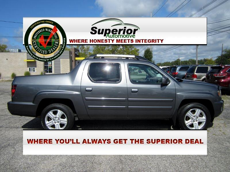 Honda Ridgeline RTL w/ Leather and Navigation 2012