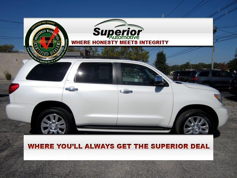 2011 Toyota Sequoia Plantium 4WD