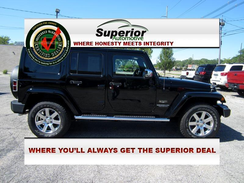 Jeep Wrangler Unlimited Sahara 4WD 2015