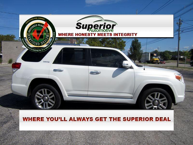 Toyota 4Runner Limited 4WD V6 2012