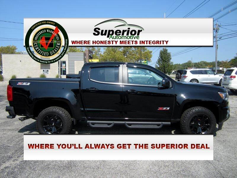 Chevrolet Colorado Z71 Crew Cab 4WD Short Box 2017