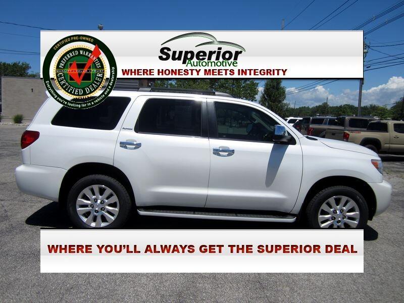 Toyota Sequoia Plantium 4WD FFV 2013