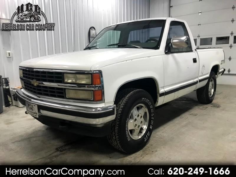1992 Chevrolet C/K 1500 Reg. Cab W/T 8-ft. Bed 4WD