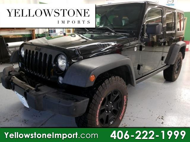2015 Jeep Wrangler Unlimited Unlimited Sport 4WD