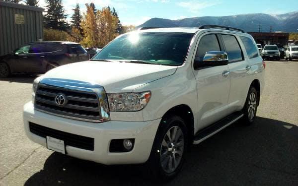 2014 Toyota Sequoia Limited 4WD FFV