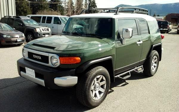 2014 Toyota FJ Cruiser 4WD AT