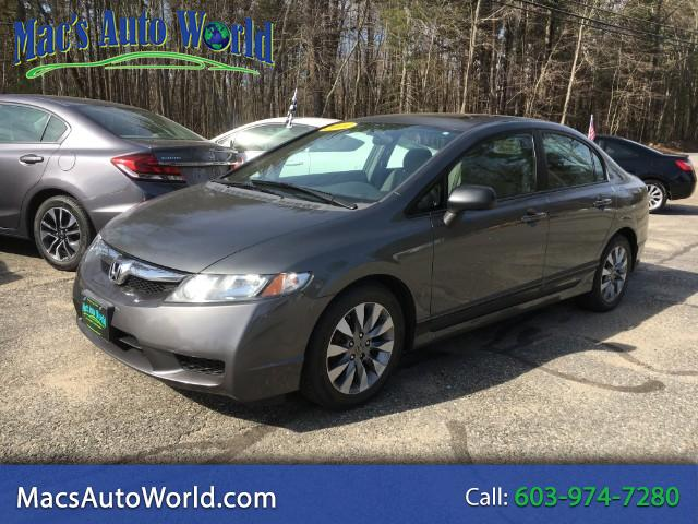 2009 Honda Civic EX Sedan 5-Speed MT