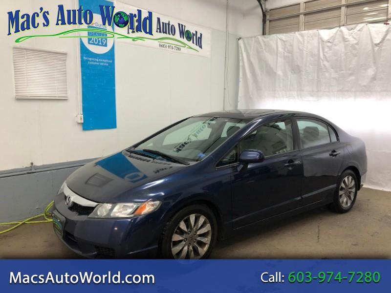 2010 Honda Civic EX Sedan 5-Speed AT