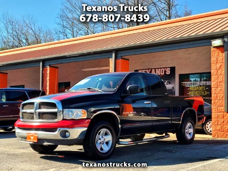 Dodge Ram 1500 ST Quad Cab Short Bed 4WD 2002