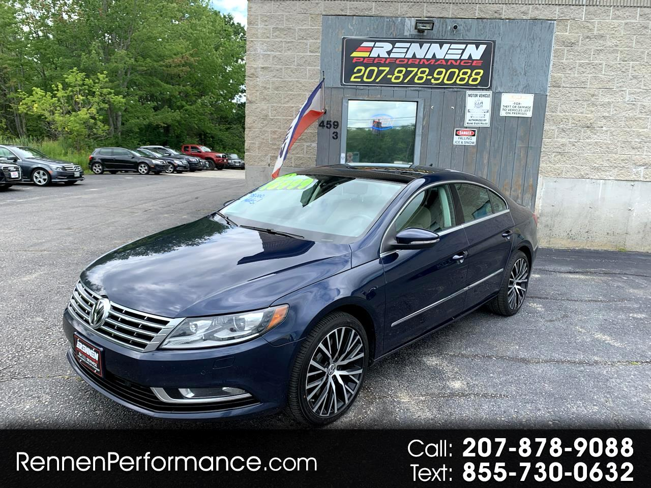 Volkswagen CC 4dr Sdn VR6 Executive 4Motion 2014