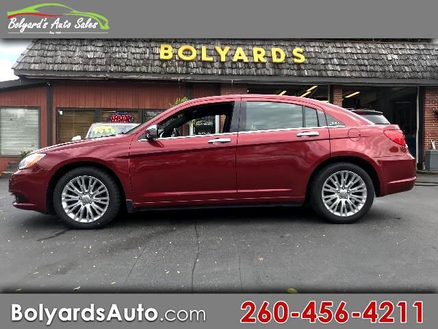 2012 Chrysler 200 4dr Sdn LX