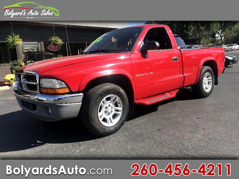 "2002 Dodge Dakota 2dr Reg Cab 112"" WB SLT"