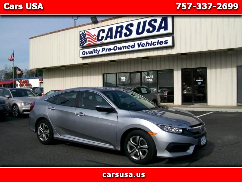 Honda Civic LX Sedan CVT 2017