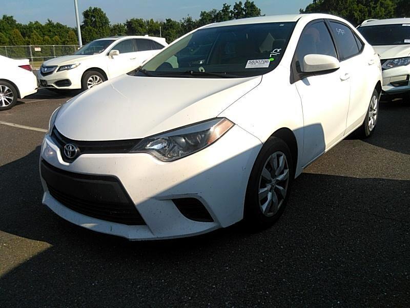 Toyota Corolla LE CVT 2014