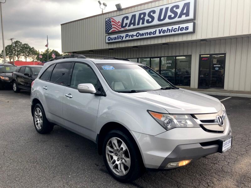 Acura MDX Tech Package and Entertainment Package 2009