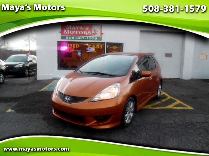 2010 Honda Fit Sport 5-Speed AT with Navigation