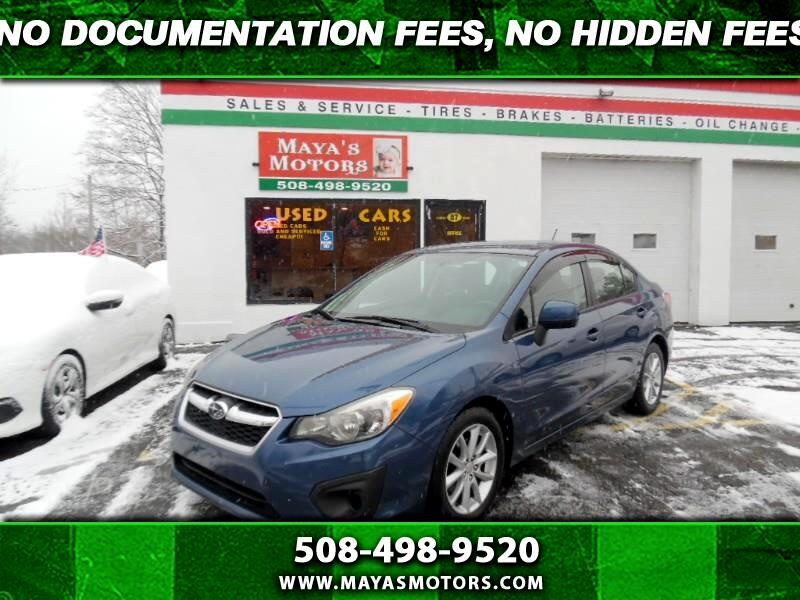 Subaru Impreza Premium 4-Door w/All Weather Package 2012
