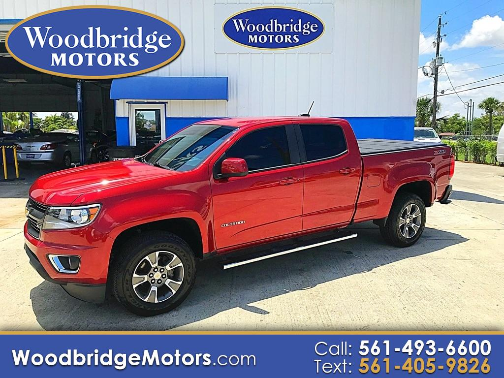 "2015 Chevrolet Colorado 2WD Crew Cab 140.5"" Z71"